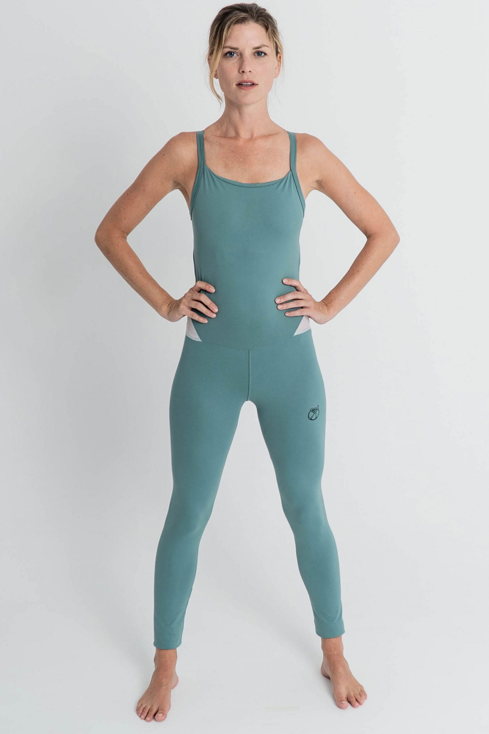 Jumsuit Lilia turquoise for yoga
