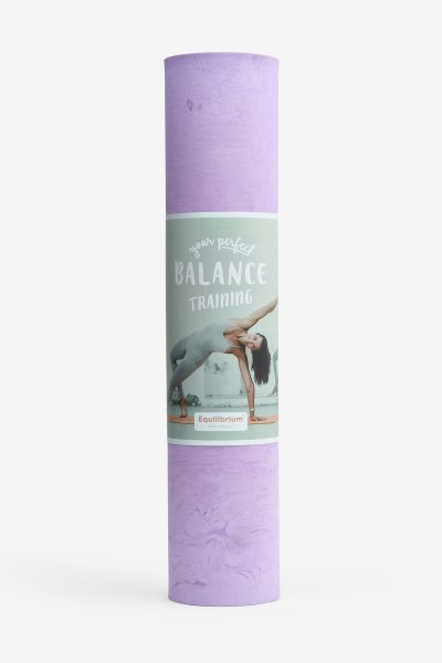 yoga mat Lilac Marble